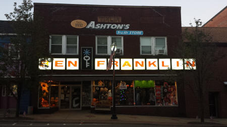 Ben Franklin Carrollton Ohio