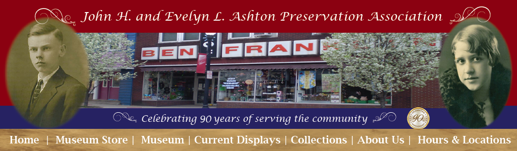 Ashton 5 and 10 Store |Museum | Preservation Associaition